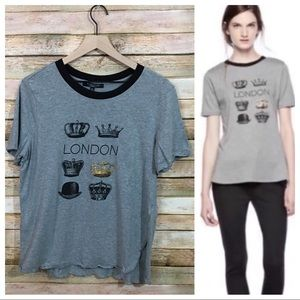 Thakoon for DesignNation London Tee - Gray - Large
